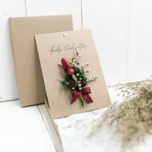 Dry_Flower_Karte_weihnachten_Grusskarte