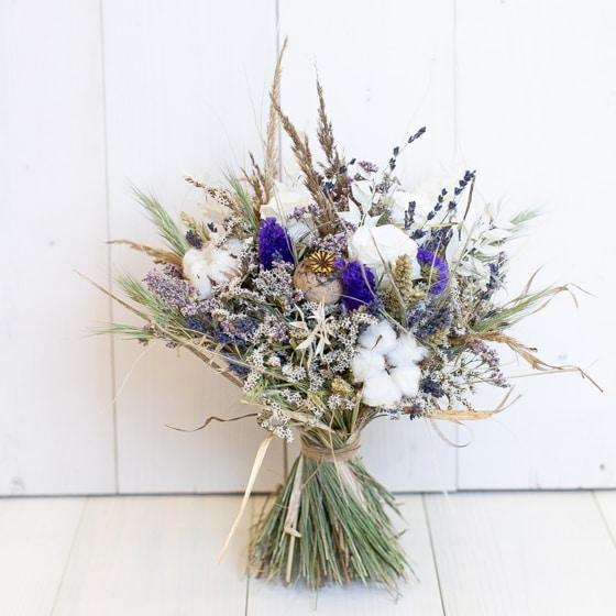 Dry_Flower_Strauss_Stehstrauss_Blumen_Mix_Natur_violett_lila_weiss (4)