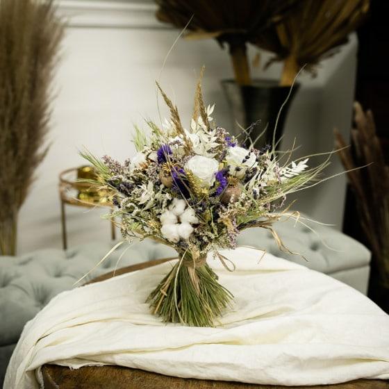Dry_Flower_Strauss_Stehstrauss_Blumen_Mix_Natur_violett_lila_weiss (5)