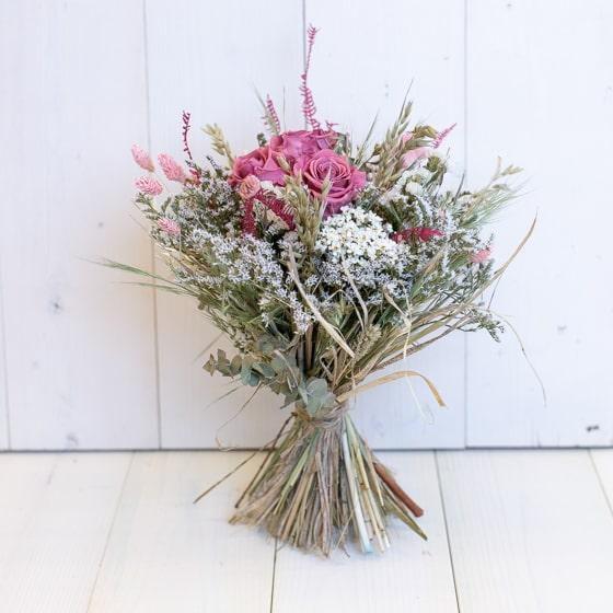 Dry_Flower_Strauss_Stehstrauss_Blumen_Mix_Rosa_Natur_weiss (1)