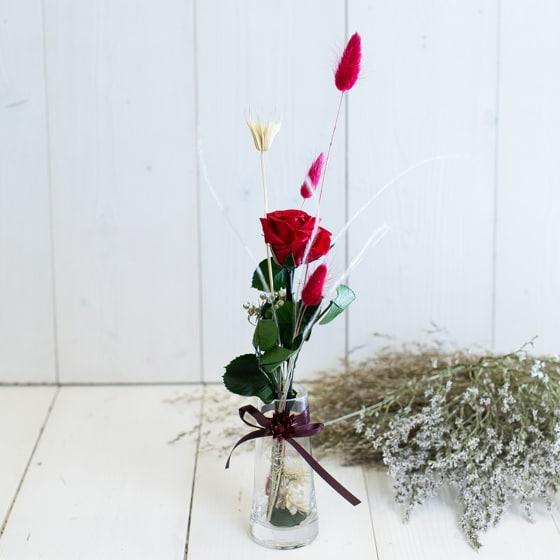 Dry_Flowers_Rose_In_Vase_Haltbar_Stabilisiert (3)