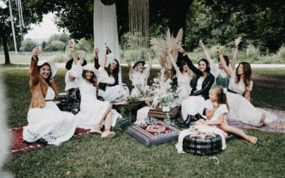 Girlsparty im Boho-Style